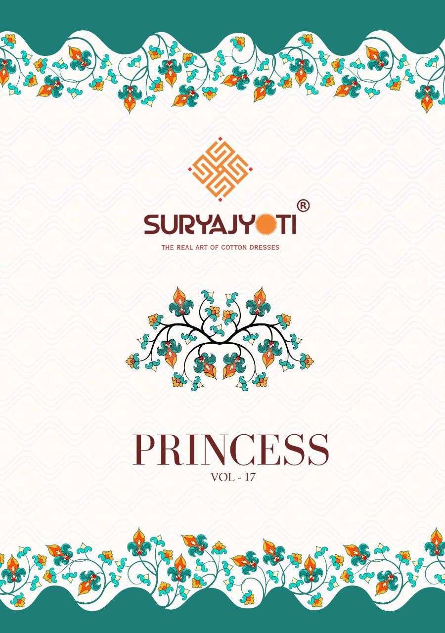 Suryajyoti Princess Vol 17 Rayon Print Dress Material Collection