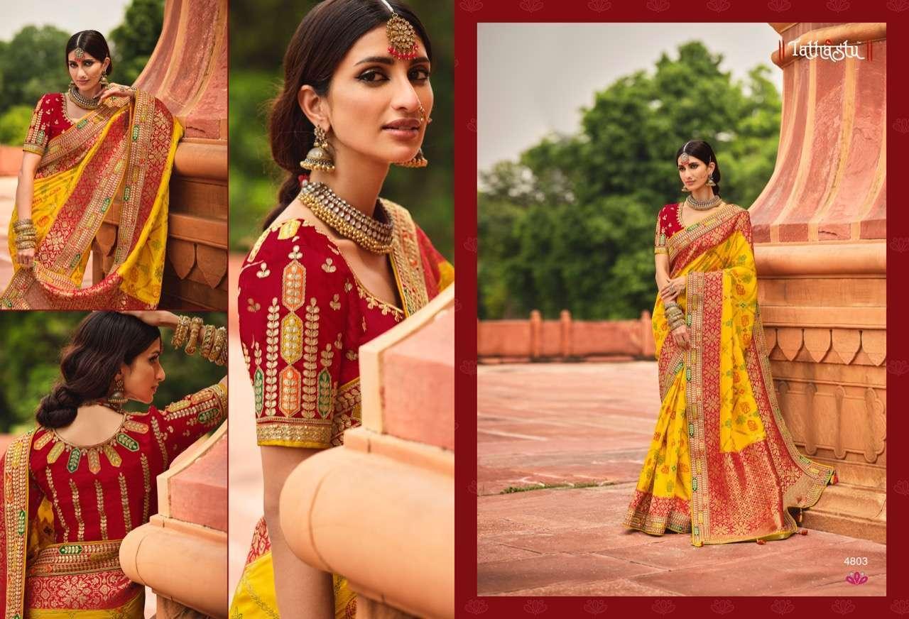Tathastu Anaara 4801-4809 Series Silk Designer Sarees Collection 4803