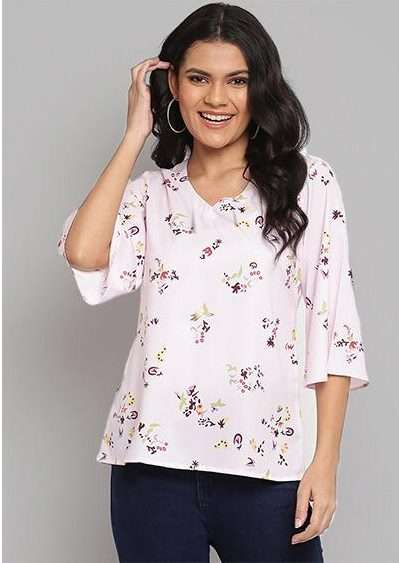 TOPSY VOL 4 FANCY TOP COLLECTION FOR GIRLS AT WHOLESALE RATES