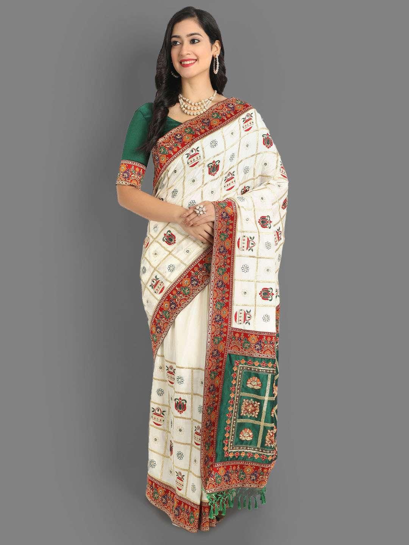 vichitra silk sarees desi look party wear sarees at wholesale rates
