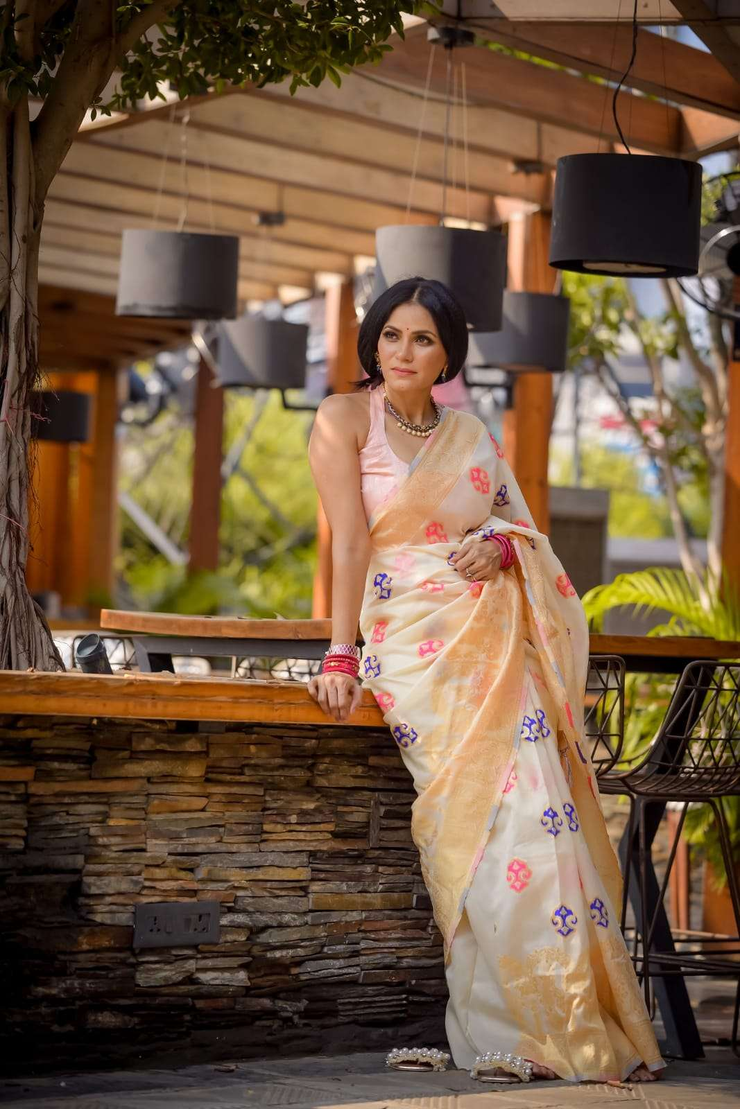 YNF POLY SILK WITH JAQUARD WEAVING SAREE COLLECTION
