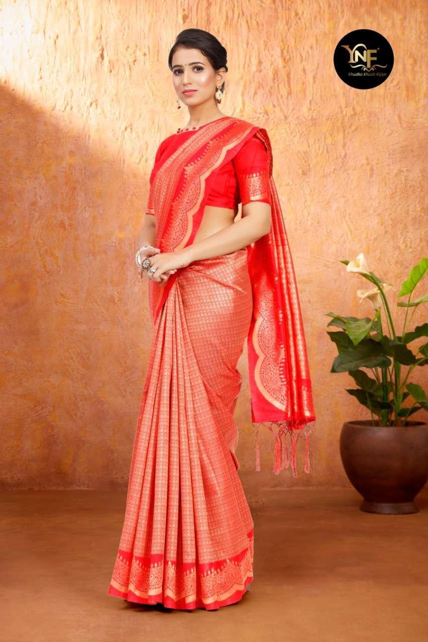 Ynf Tulsi Silk Art Silk Woven Sarees Collection 01