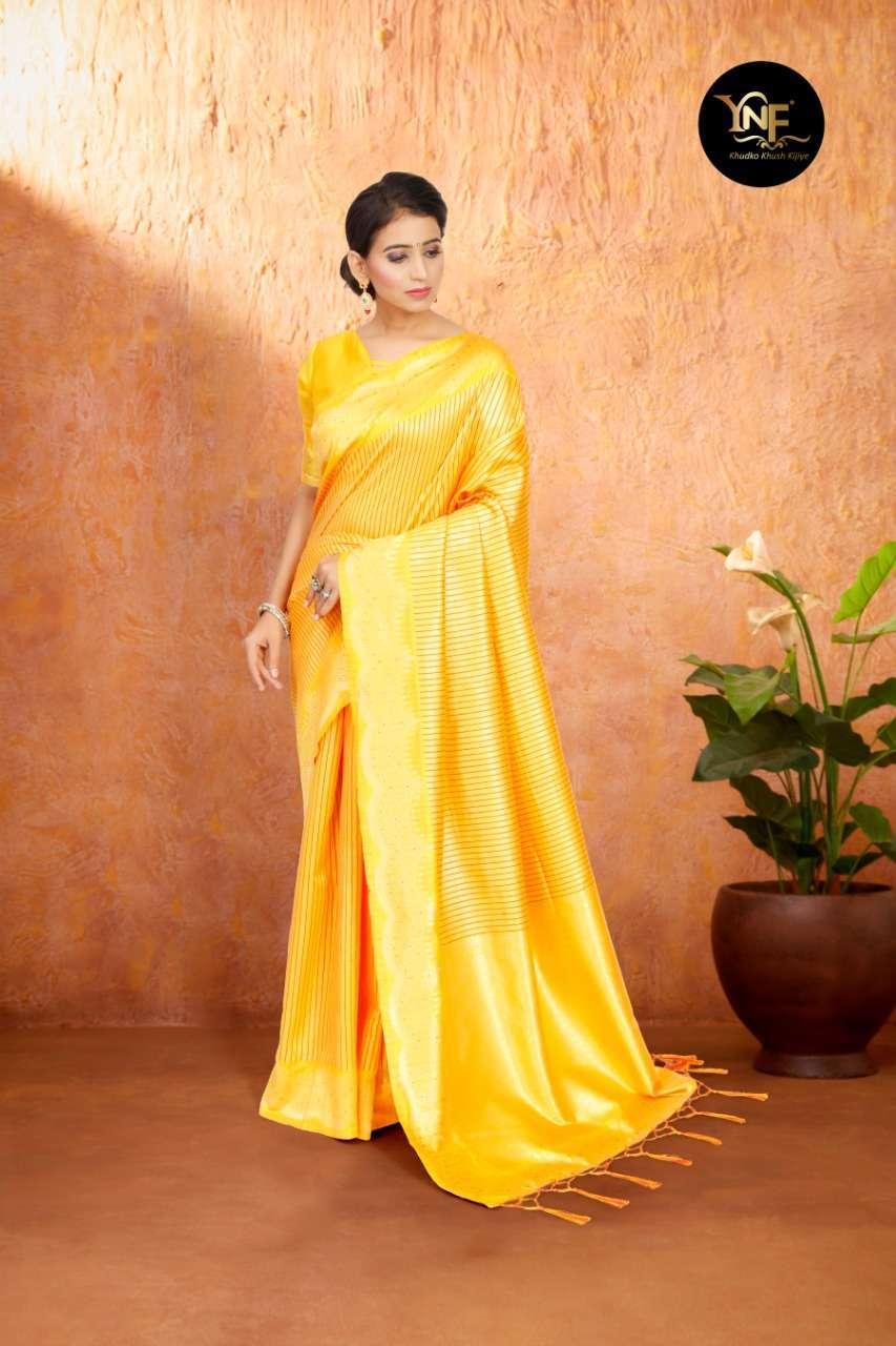 Ynf Tulsi Silk Art Silk Woven Sarees Collection 03