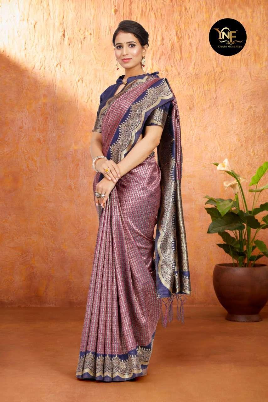 Ynf Tulsi Silk Art Silk Woven Sarees Collection 04