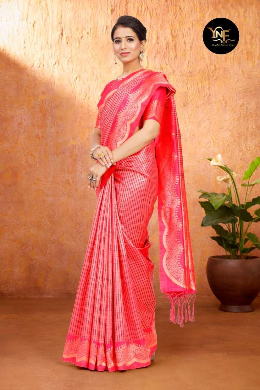 Ynf Tulsi Silk Art Silk Woven Sarees Collection 05
