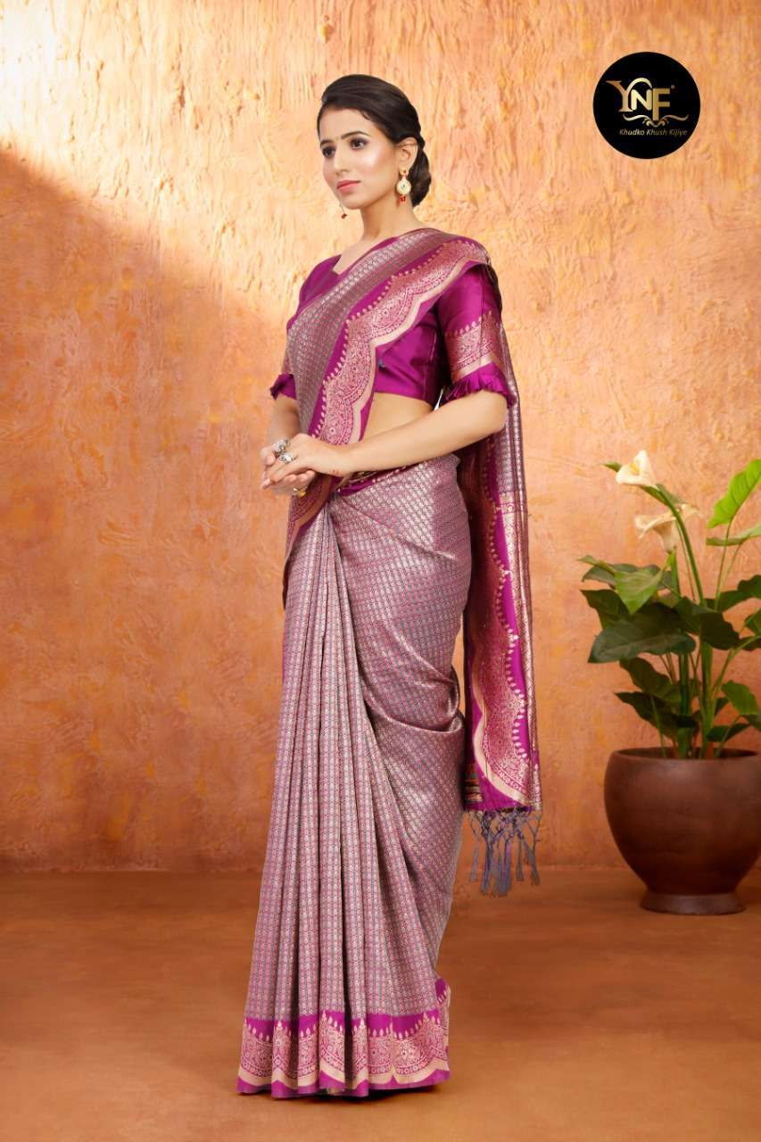 Ynf Tulsi Silk Art Silk Woven Sarees Collection 06