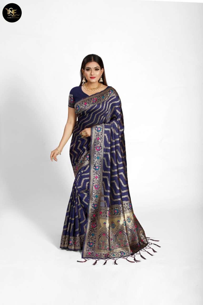 Ynf Utsav Silk Latest Banarasi SILK Saree COLLECTION