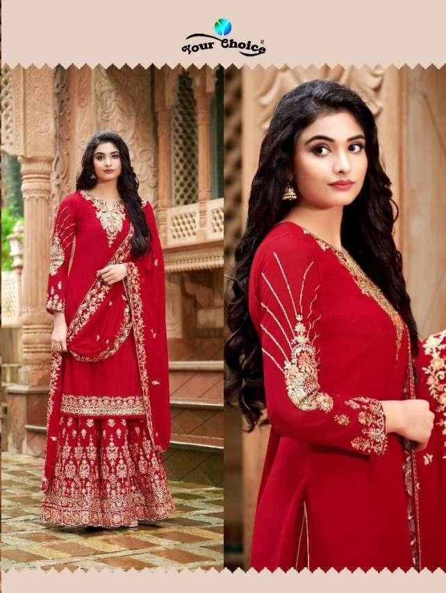 YOUR CHOICE KARVA AFFAIR VOL 1 karva chauth special dress