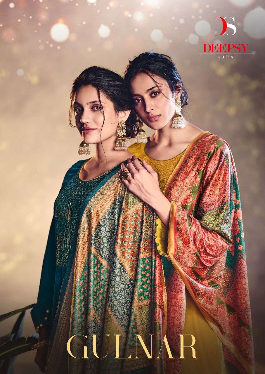 Deepsy Suits Gulnar Velvet With embroidery Work Winter Collection