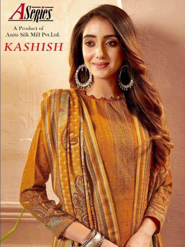Kesriya Kashish Pashmina Jacquard With Work Winter Suits Collection