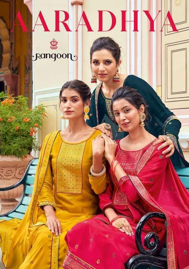 Kessi Fabrics Rangoon Aaradhya Muslin With Work Readymade Suits Collection