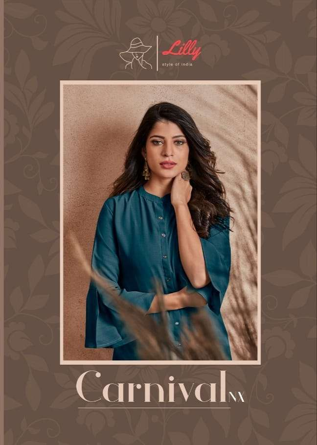Lilly Style Of India Carnival NX Georgette Kurtis Collection