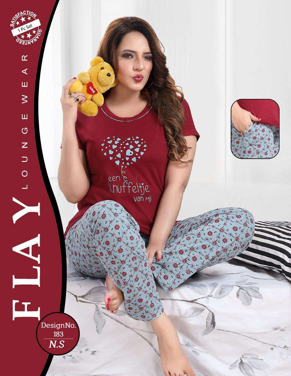Manila Vol 2 Hosiery Night Suits Collection