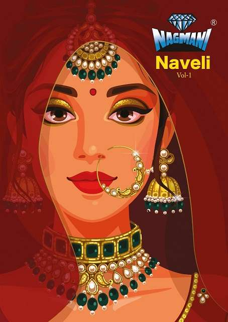 Nagmani naveli vol 1 cotton with printed salwar kameez collection
