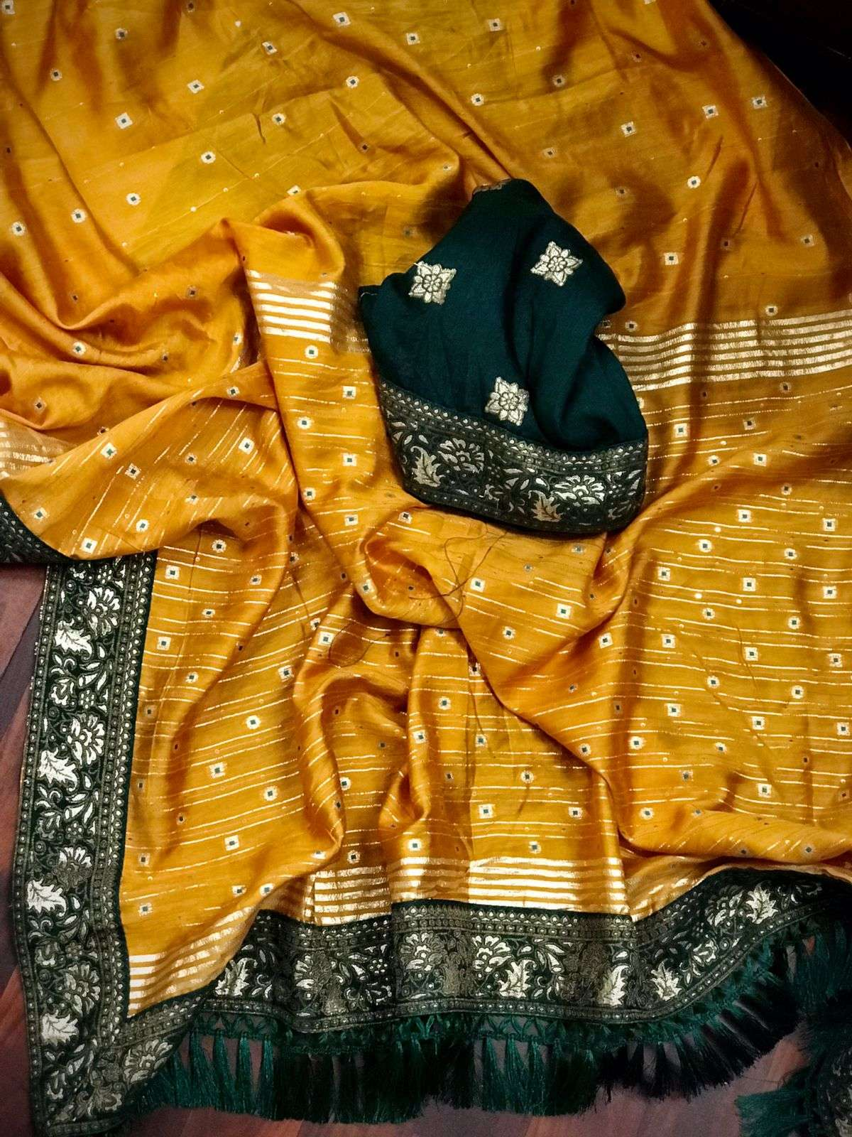 Rimadri silk with weaving Sequence work saree collection