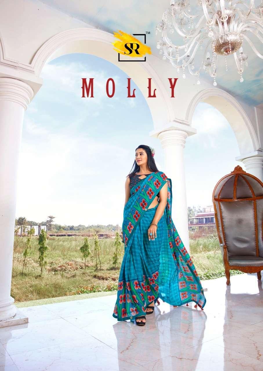 Sr sarees molly soft cotton saree collection