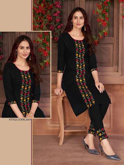 The womens thread amanat kurti collection