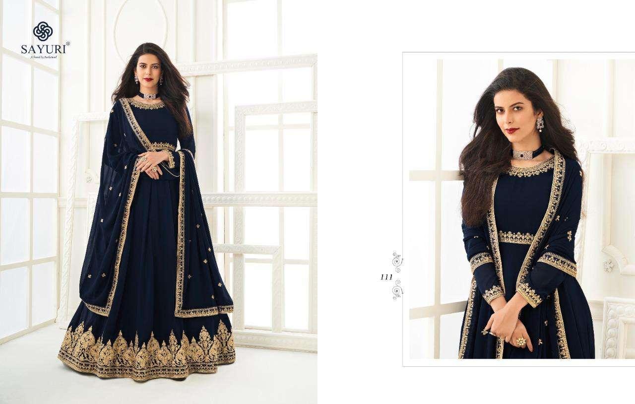 Aashirwad Creation Sayuri Kesha Georgette With Embroidery Work Salwar Kameez Collection