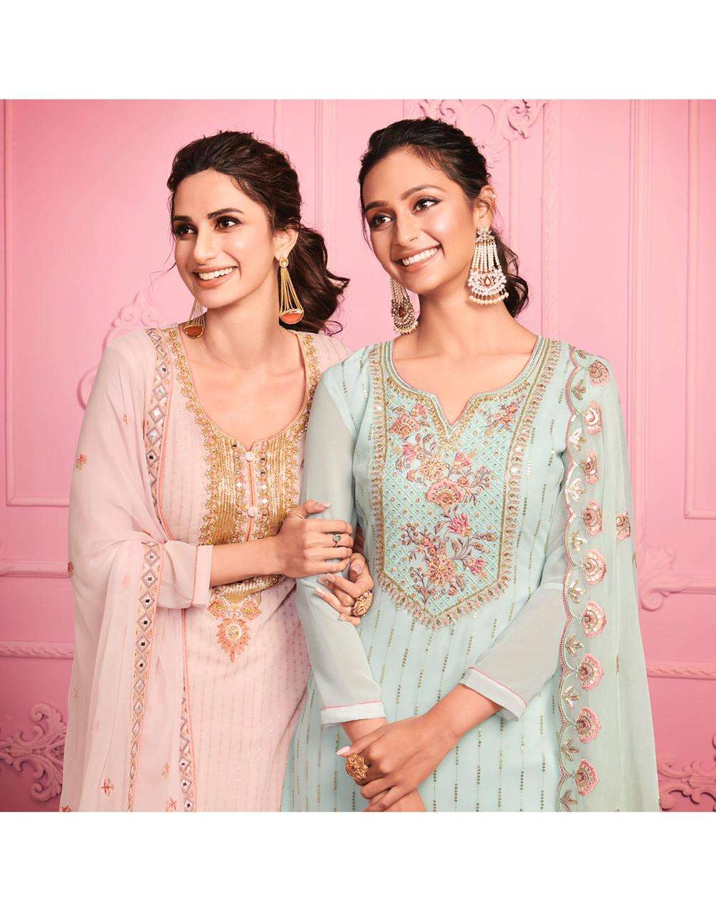 Alizeh Murad Vol 1 Georgette With Thread Embroidery Work Dress Material Collection