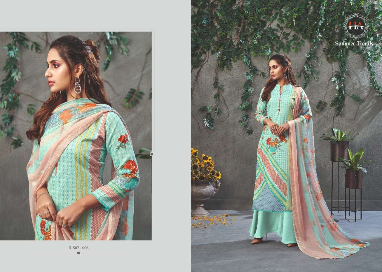 Alok Suits Harshit fashion Summer Trends Jam Digital Print Dress Material Collection