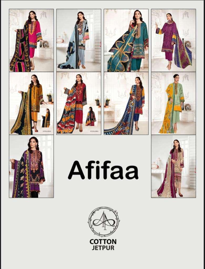 Apna Cotton Afifaa Pure Cotton Karachi Print Low Range Dress Material Collection