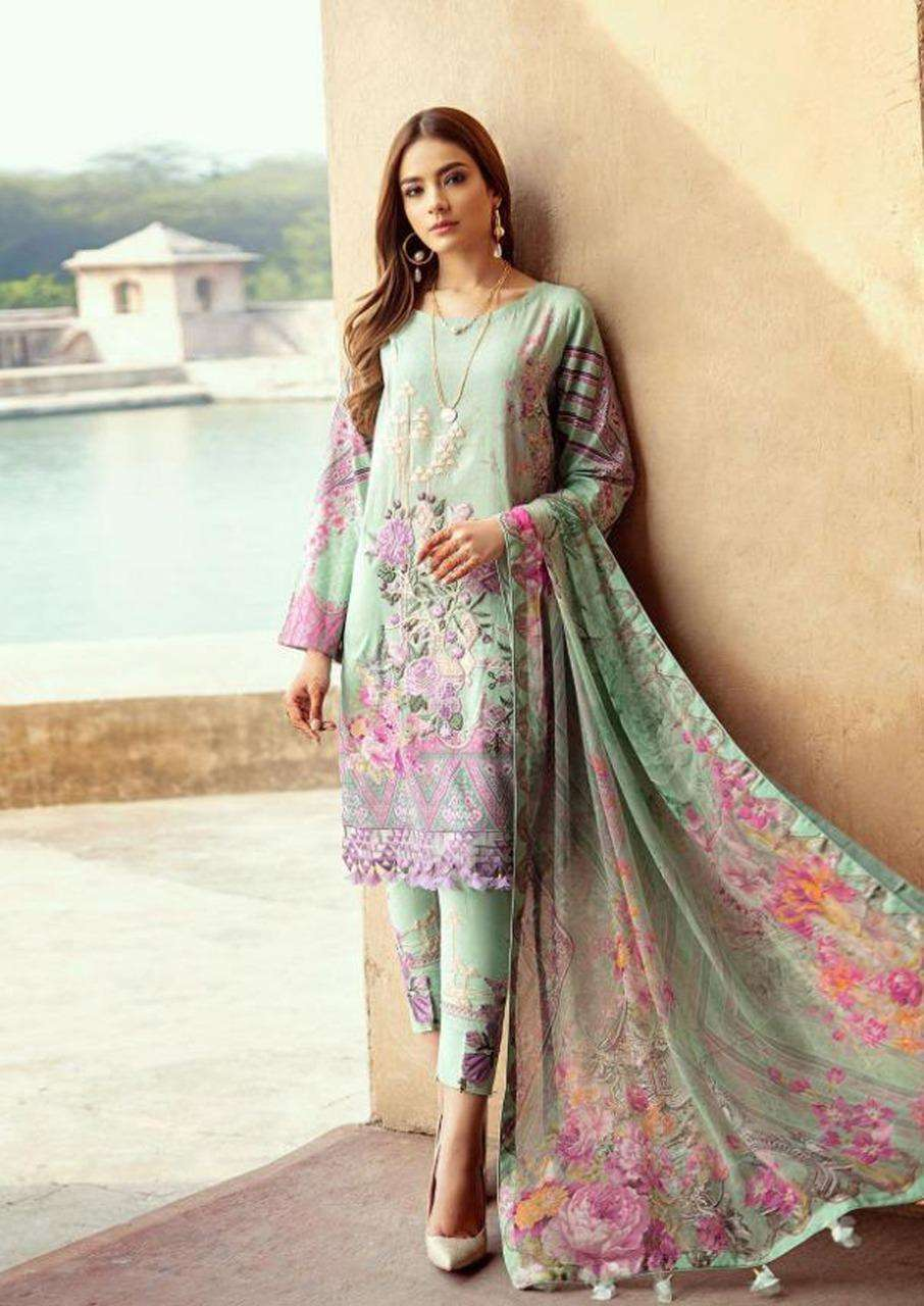APNA COTTON SANIYA VOL 4 COTTON WITH FANCY PRINTED DRESS MATERIAL COLLECTION