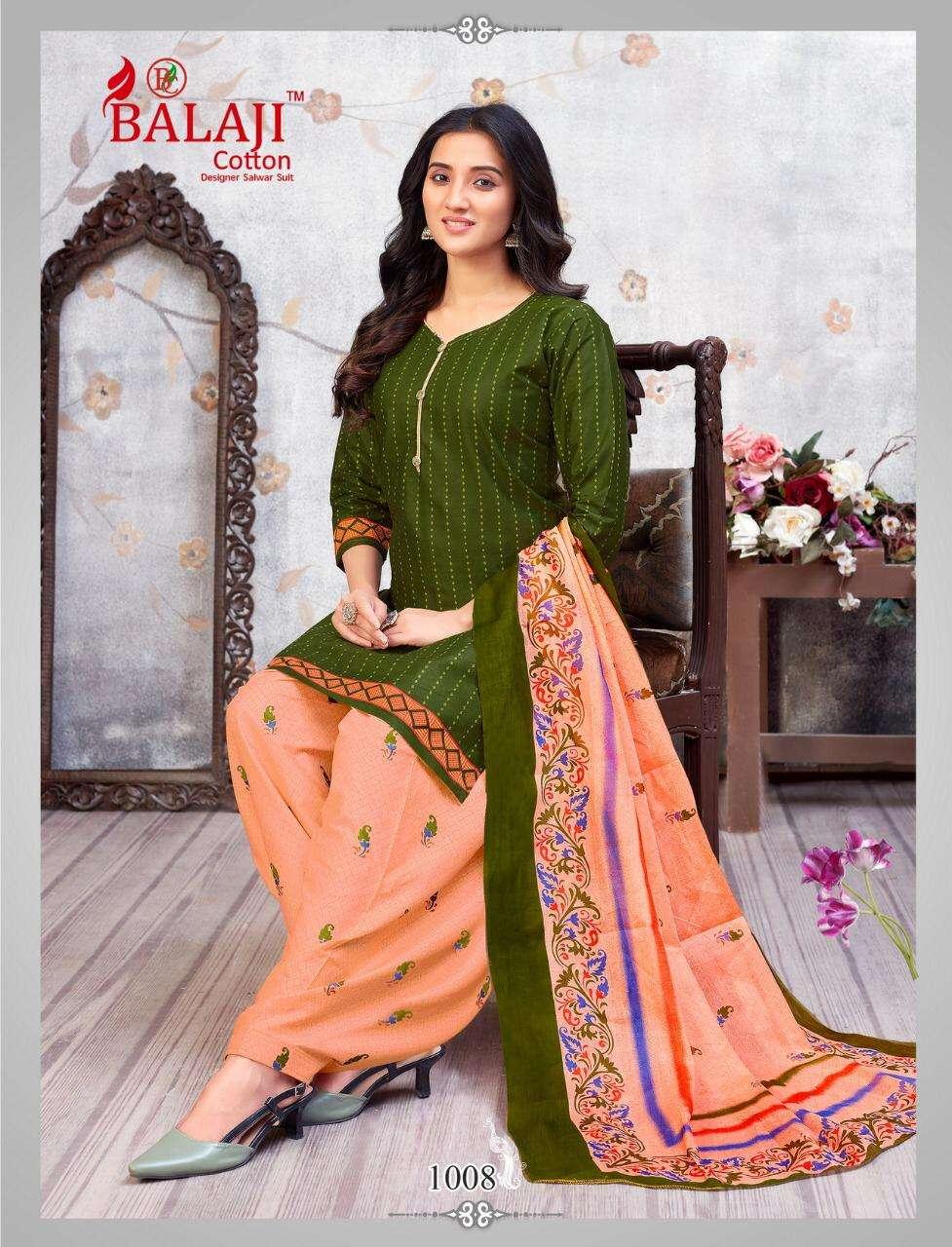 Balaji Cotton Sui Dhaga Vol 1 Cotton Patiyala Casual Dress Material Collection