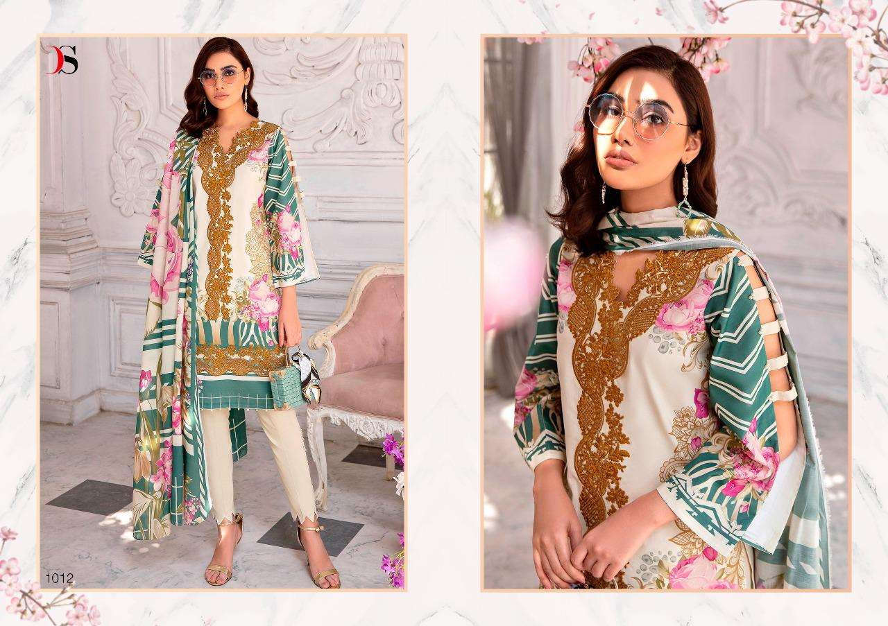 Deepsy Suits Firdous Urbane Pure cotton Print With embroidery Work Pakistani Suits collection
