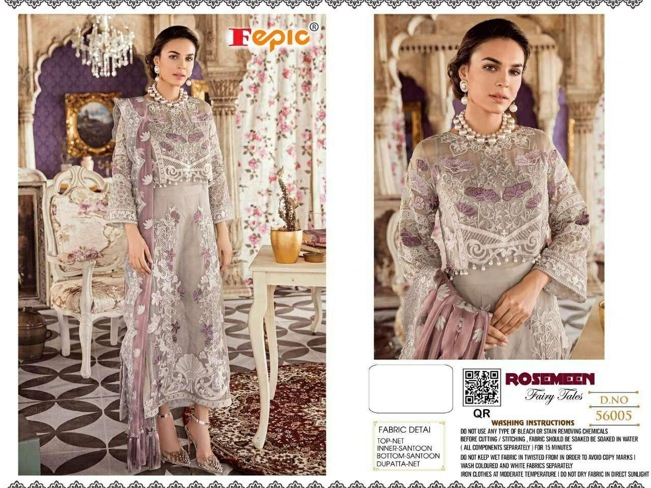 Fepic Rosemeen Hits Pakistani Suits