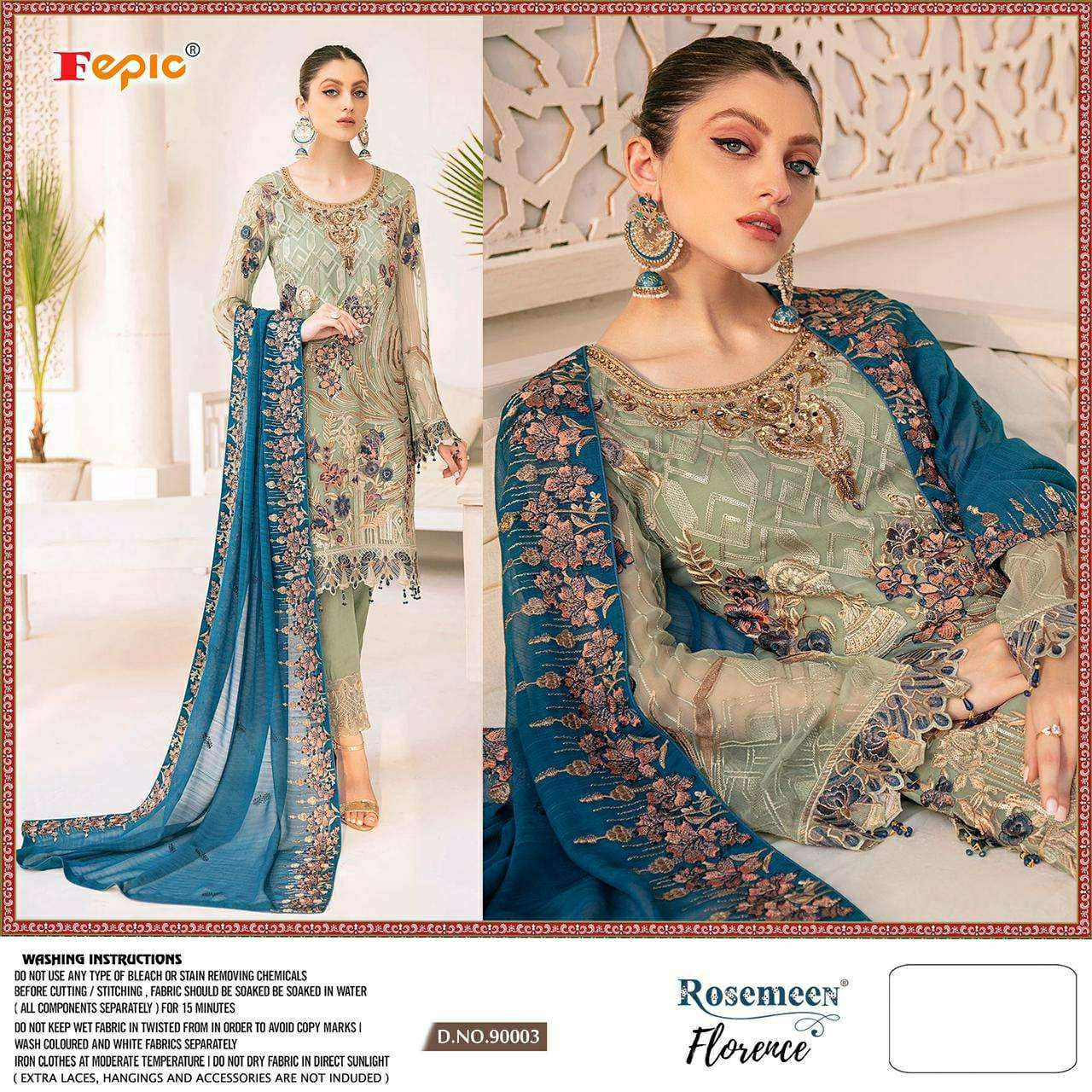 Fepic Rosemeen Hits Pakistani Suits Collection