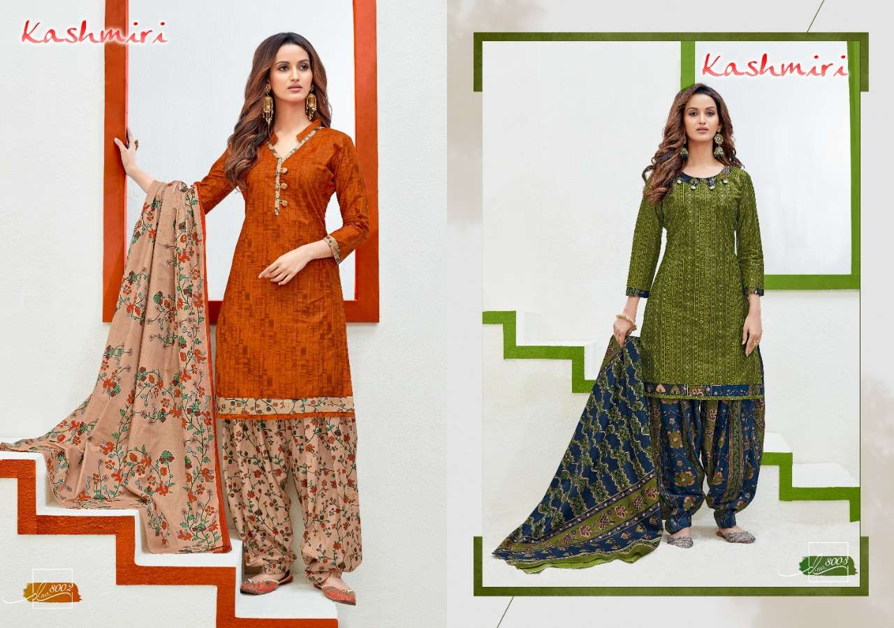 Ganesha Kashmiri Vol 8 Cotton printed Dress Material Collection