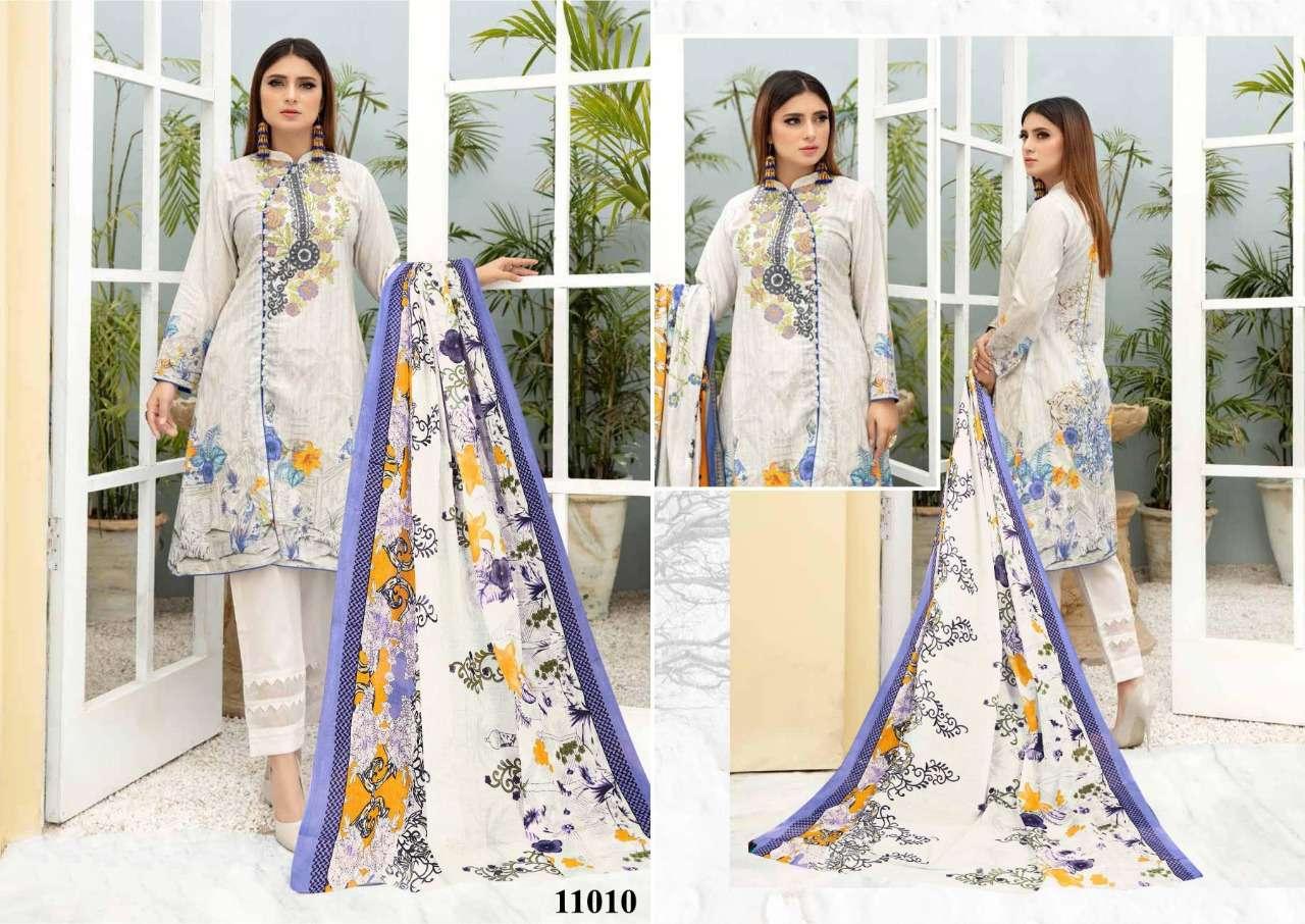Iris Vol 11 Pure cotton Print Regular Wear Drees Material Collection