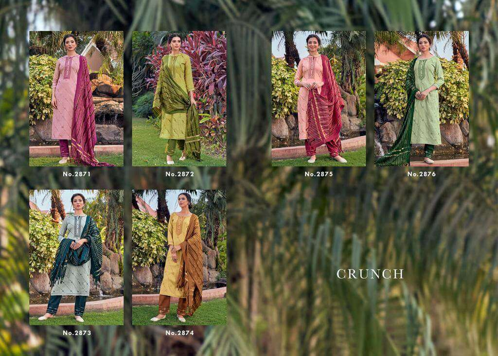Kessi fabric Rangoon Crunch Viscose with Heavy Embroidery Sequence Work Salwar Kameez Collection