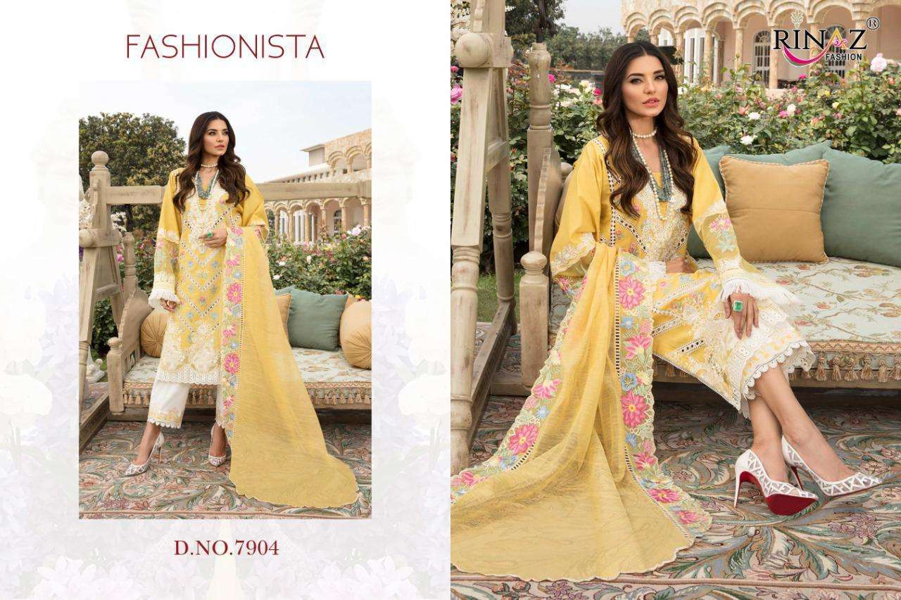 Rinaz fashion Adan Libas Vol 5 Cambric Cotton With Embroidery Work Pakistani Suits Collection