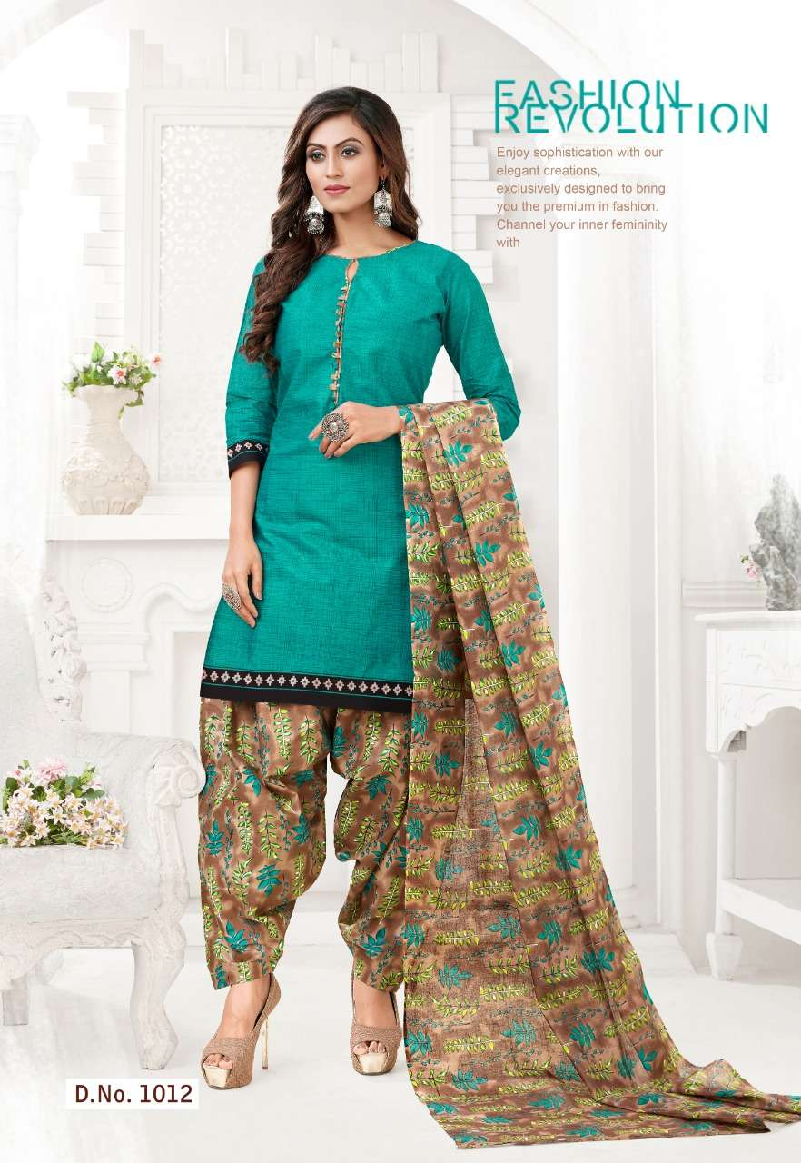 SC Panetar 1st edition Pure Cotton printed readymade Dress Material Collection