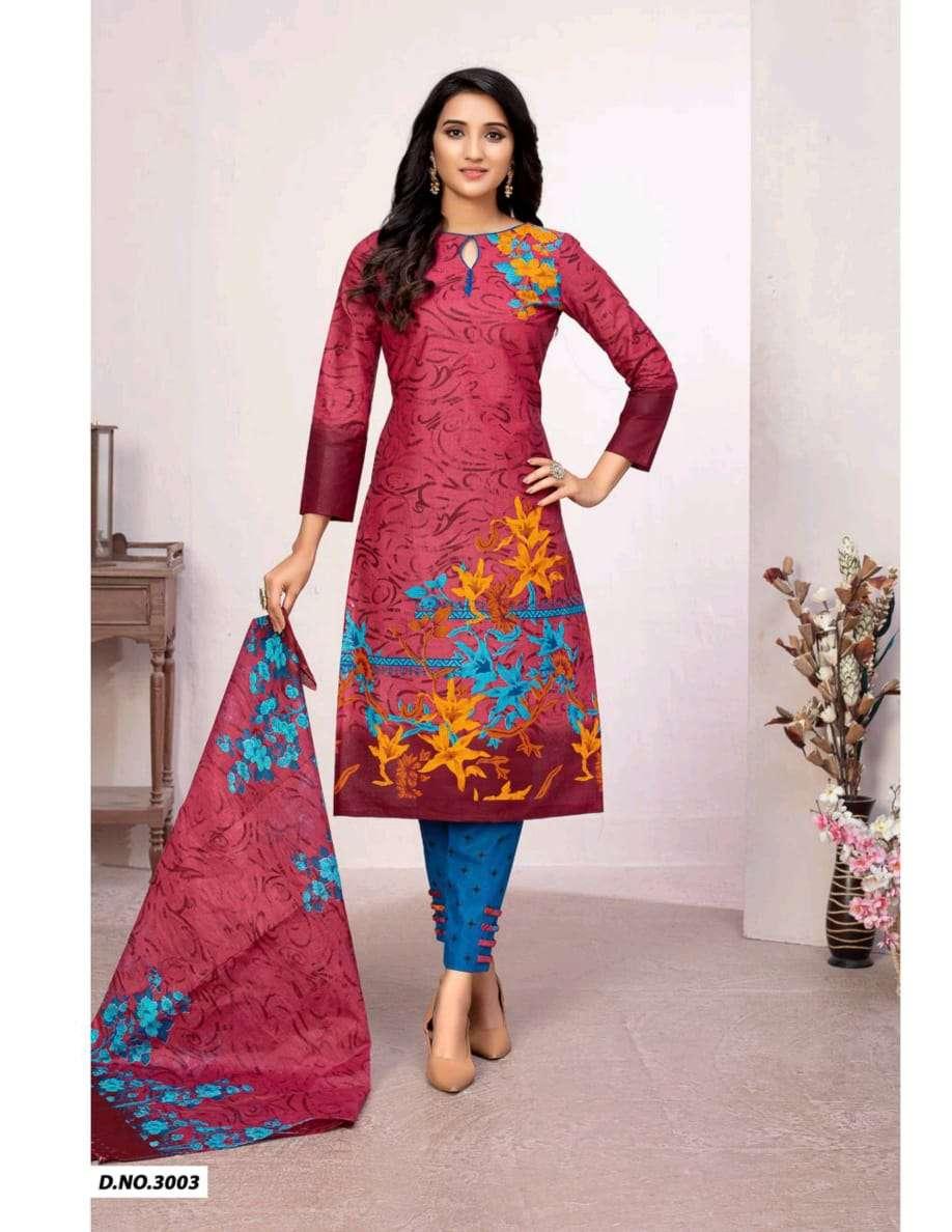 Shree Meenaxi Mannat Karachi Vol 3 Cotton Printed Regular Wear Dress Material Collection