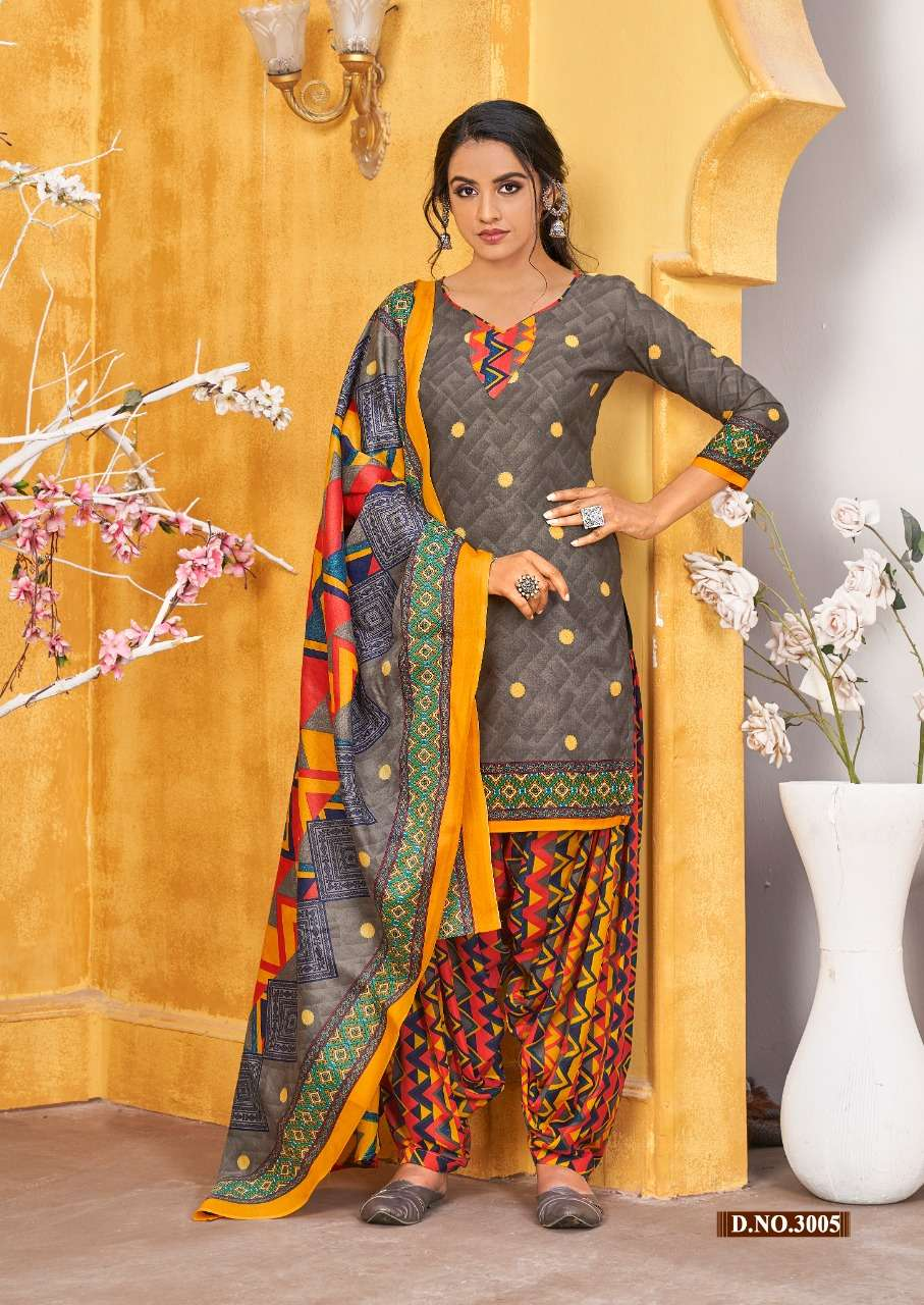 SKT Suits Lilly vol 3 Soft Cotton printed Dress Material Collection