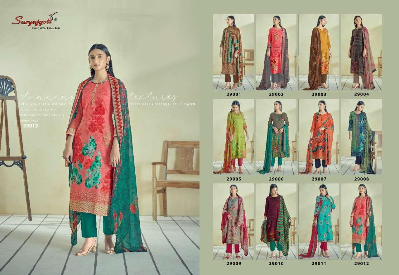Suryajyoti Naishaa Vol 29 Satin Cotton Dress Material Collection
