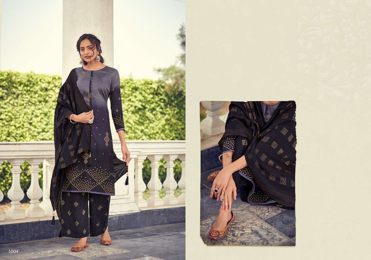 Sweety fashion Soneri Cotton Satin Printed Dress Material Collection