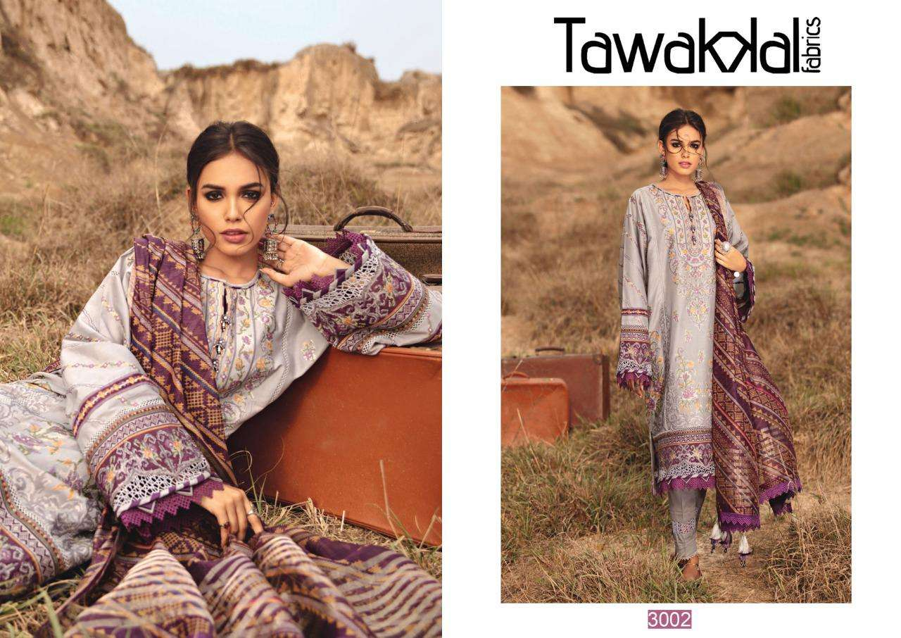 Tawakkal Opulence Luxury Cotton Vol 3 Cotton Printed Dress Material Collection