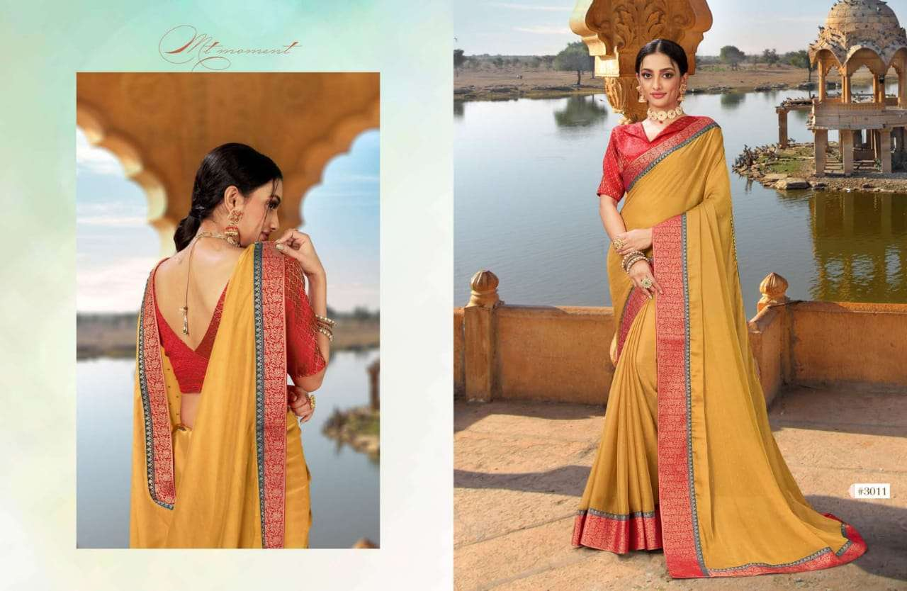 Aayami Shringar Fancy Georgette party Wear Sarees collection