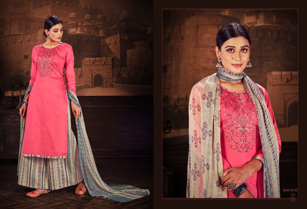 Belliza Designer Studio Zulfat Ishika Jam Cotton With Embroidery Work Dress Material Collection