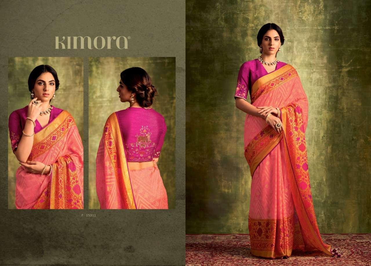 Kimora Meera Brasso Fancy Designer Sarees Collection