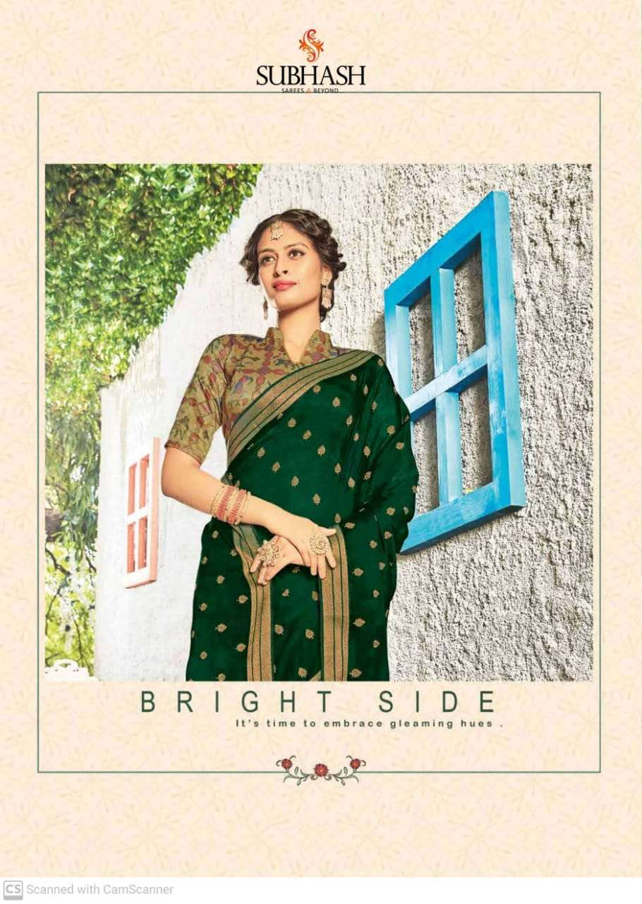 subhash sparsh vol 5 georgette with party wear saree collection  012