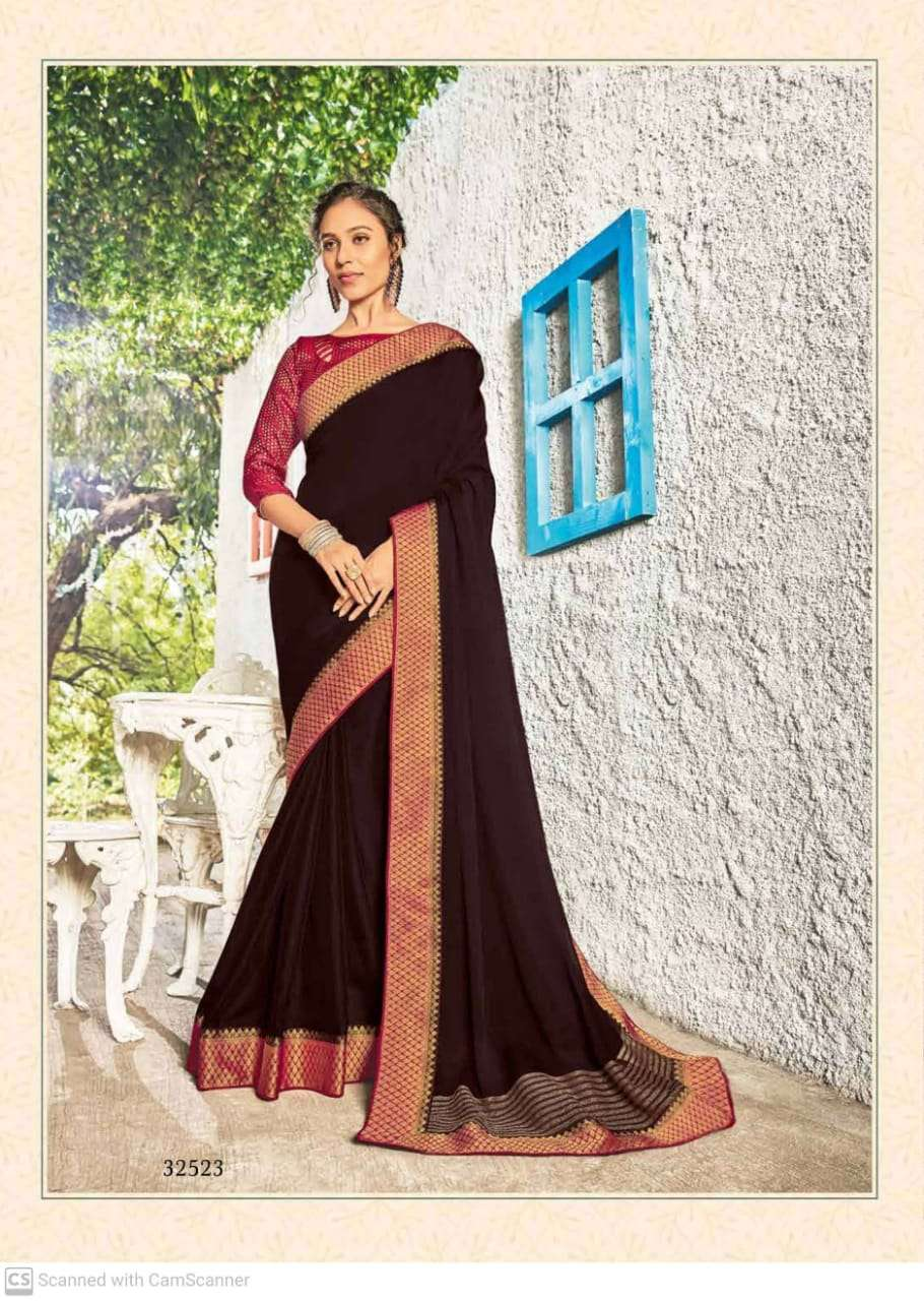 subhash sparsh vol 5 georgette with party wear saree collection  03