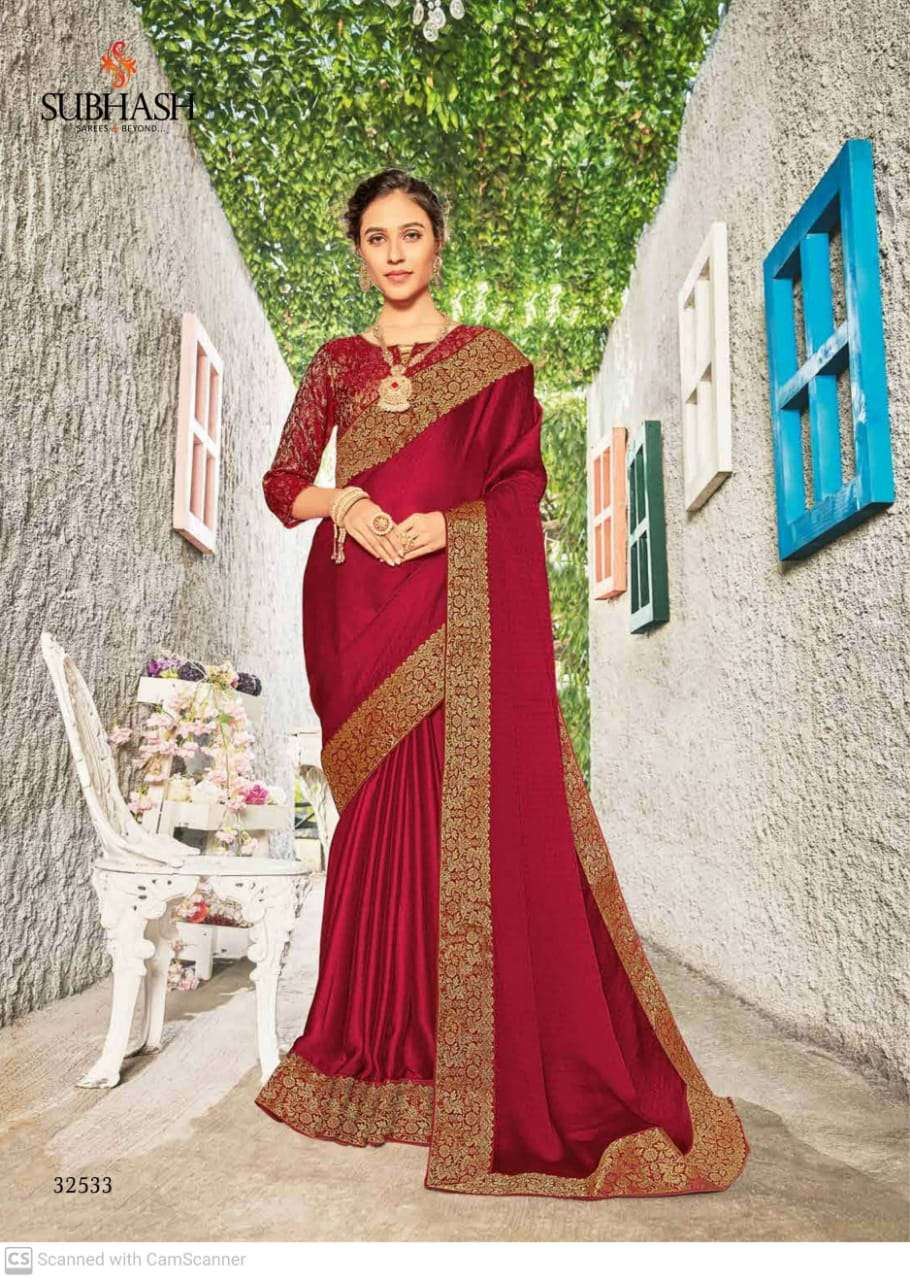 subhash sparsh vol 5 georgette with party wear saree collection  15