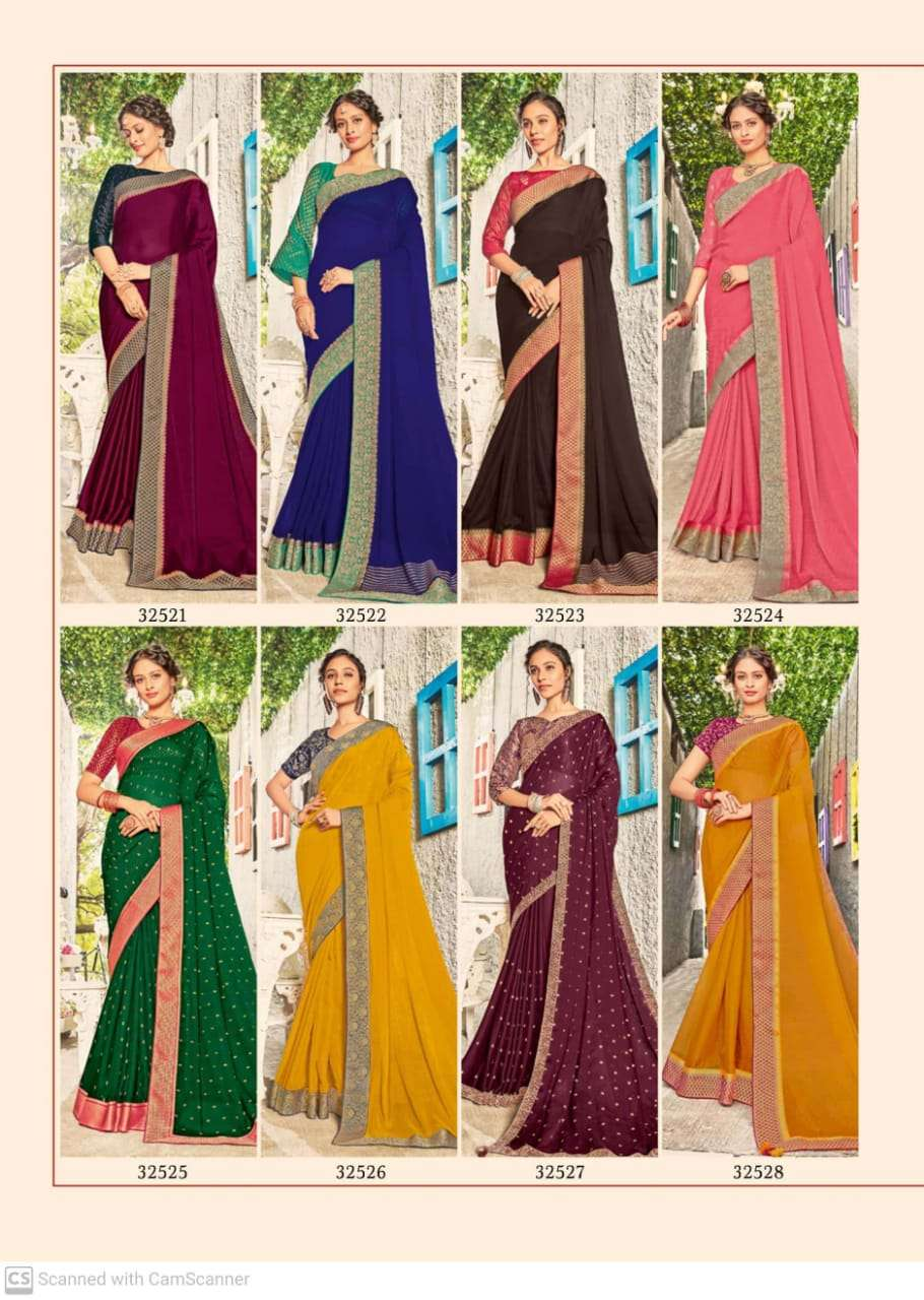 subhash sparsh vol 5 georgette with party wear saree collection AT WHOLESALE RATE