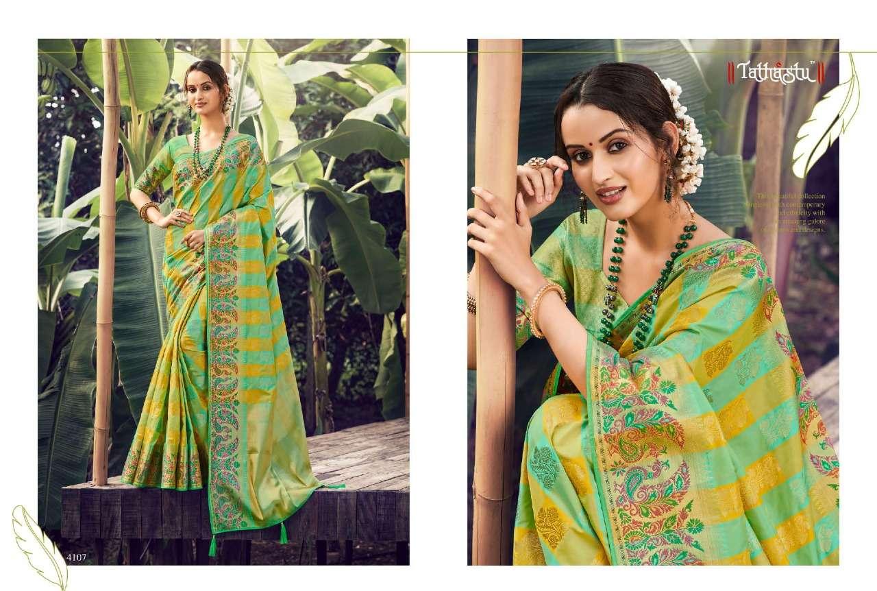 Tathastu 4100 Series Heavy Designer Silk Sarees Collection  013