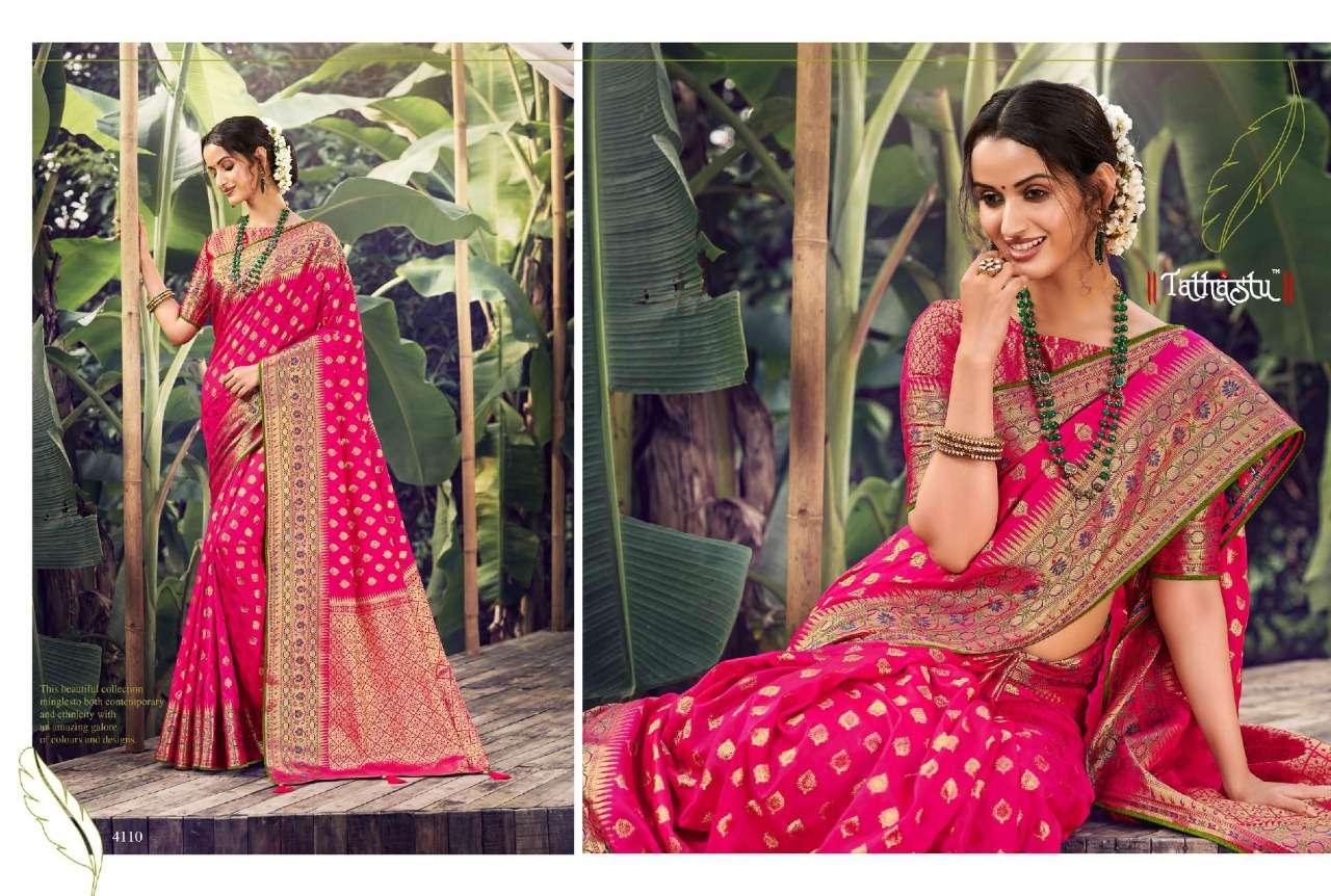 Tathastu 4100 Series Heavy Designer Silk Sarees Collection  05