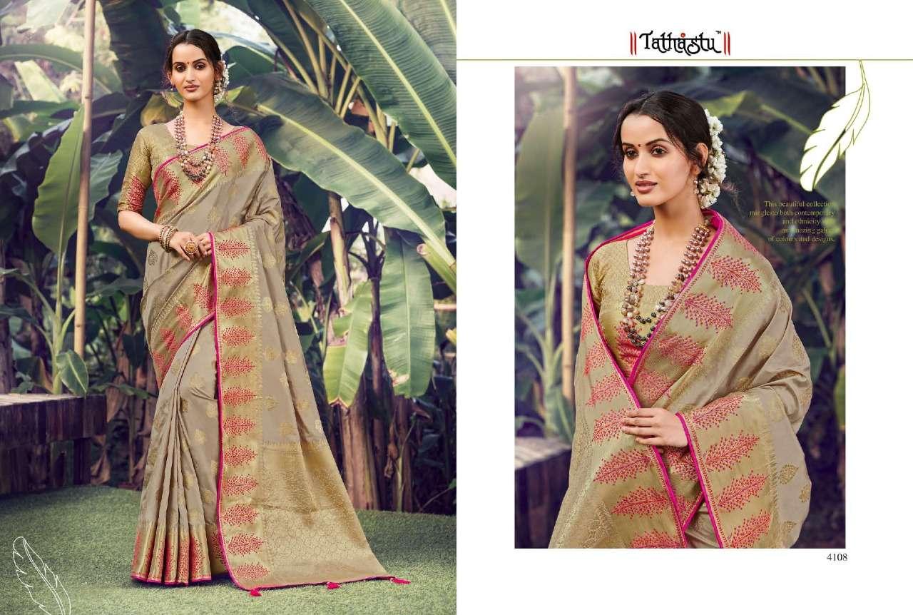 Tathastu 4100 Series Heavy Designer Silk Sarees Collection  06
